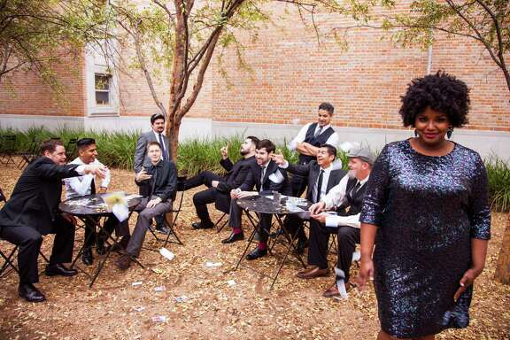 The Suffers, with lead singer Kam Franklin, will perform Saturday at the House of Blues.