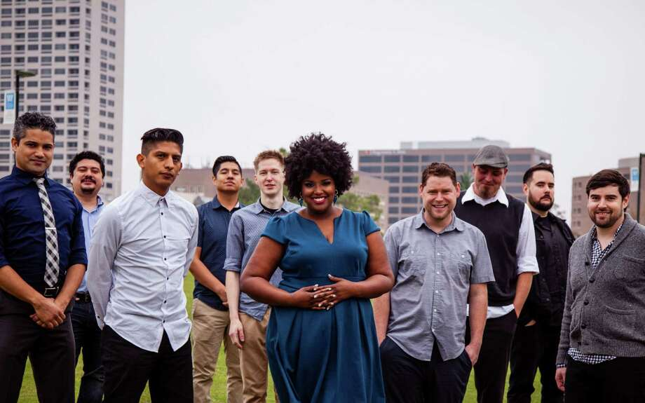 The Suffers, with lead singer Kam Franklin, have just kicked off a Kickstarter campaign to raise money to promote it's debut album.  Photo: Daniel Jackson / ONLINE_YES