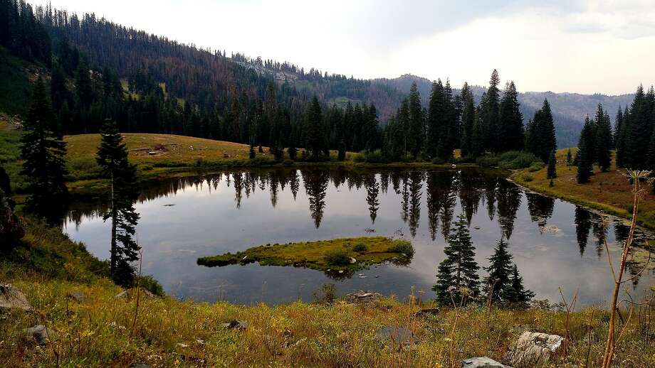 Small and lovely Paradise Lake is near the Pacific Crest Trail at the foot of Kings Castle in the 241,000-acre Marble Mountain Wilderness. Photo: Denese Welch, Special To The Chronicle