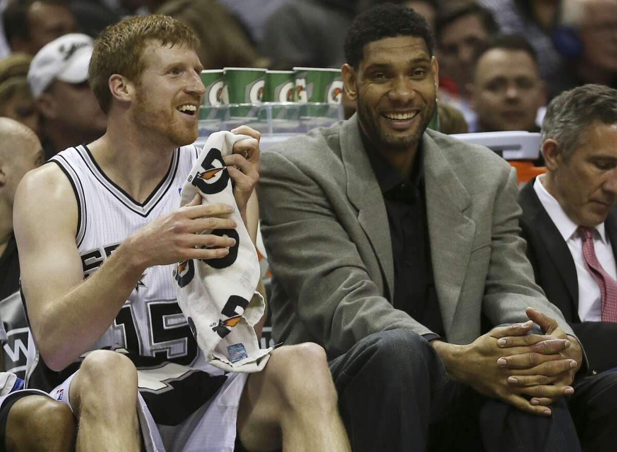 17. Matt Bonner, 2006-15: Bonner gets here primarily through longevity, with only Parker and Ginobili having played more games at Duncan's side. He's also an excellent 3-point shooter, ranking 15th in NBA history at 41.4 percent.