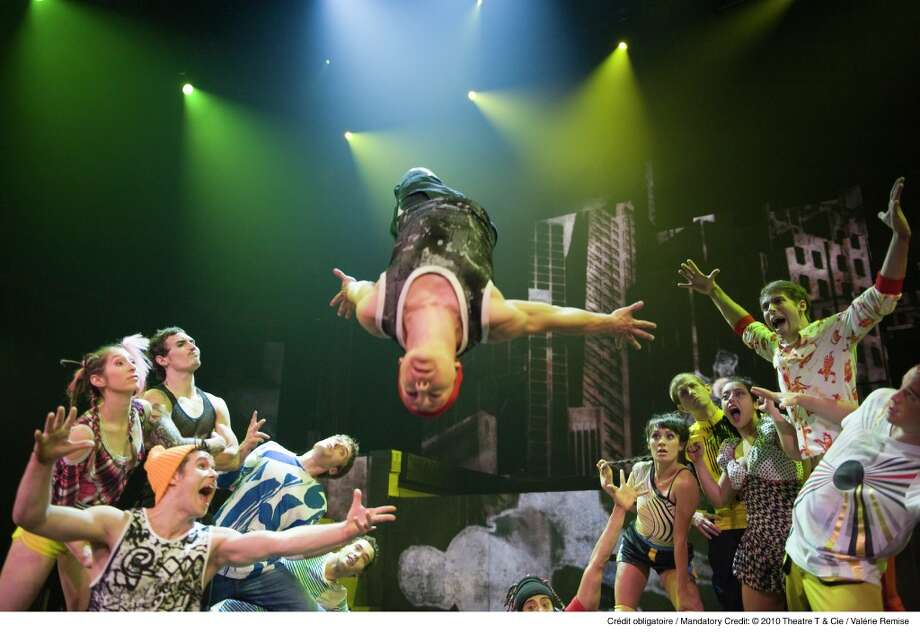 Cirque Éloize, from Montreal, is in residence at Foxwoods Resort Casino through Sunday, Aug. 30. Photo: Contributed Photo