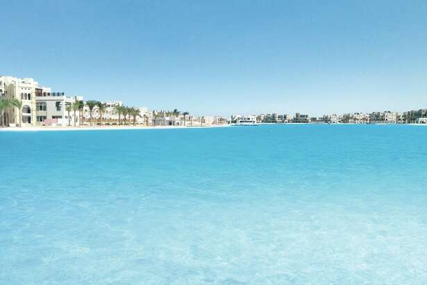 A Crystal Lagoons project at the Citystars Sharm El Sheikh, a tourist complex in Egypt.