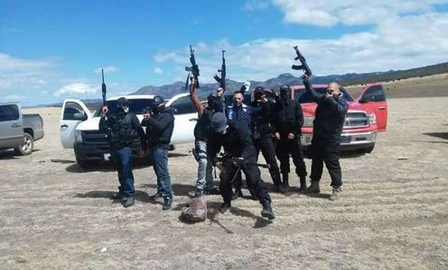 1. El Grupo Bravo del NCDJ is not a drug cartel, yet they are associated with the New Juarez Cartel. Just a few years old, el Grupo Bravo is the armed wing of the cartel and can be seen as the cartel's army or security forces, according to Mike Vigil, former chief of international operations for the DEA.  Photo: El Blog Del Narco