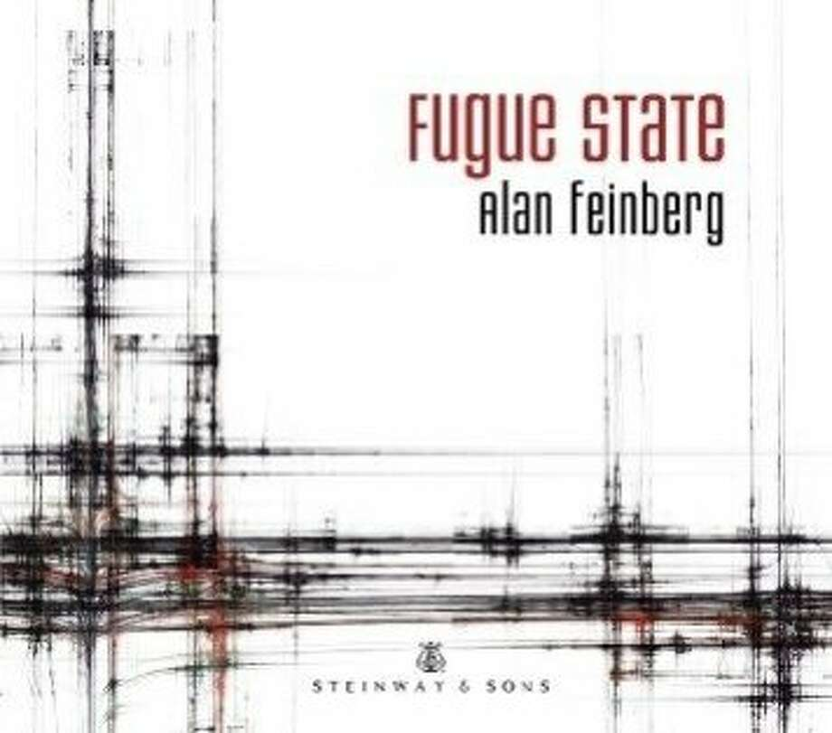 """CD cover: """"Fugue State"""" by Alan Feinberg Photo: Steinway & Sons"""