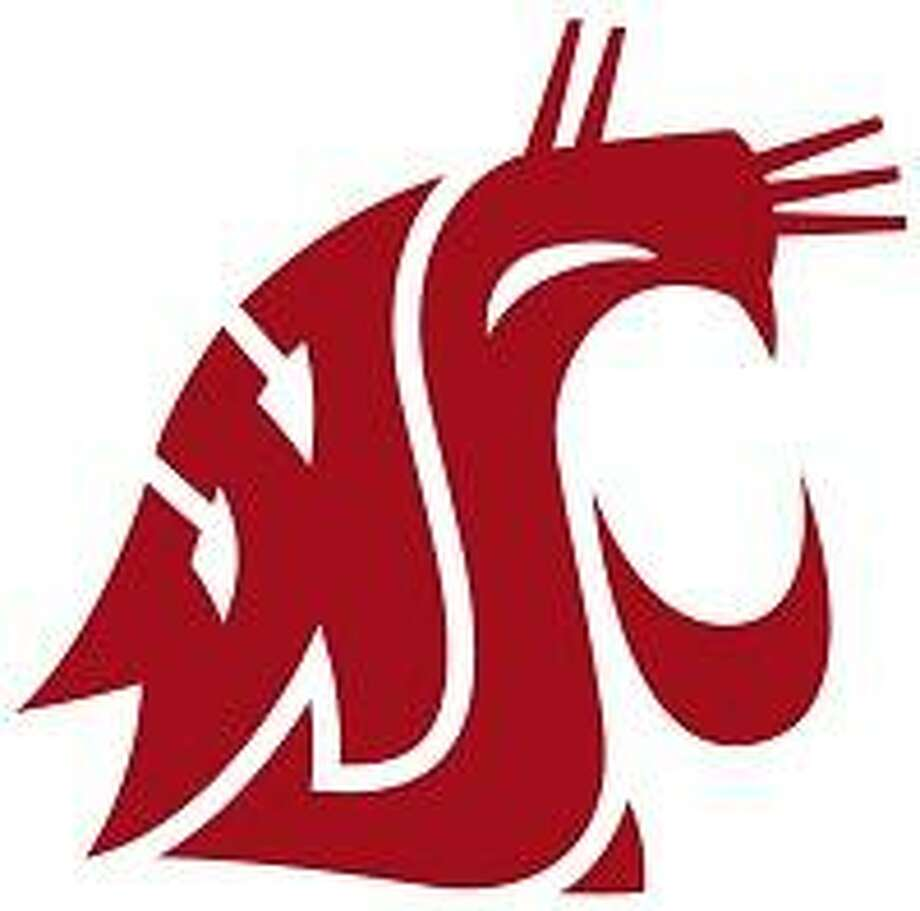 The WSU logo was designed in 1936 by Randall Johnson, an art student at WSU.