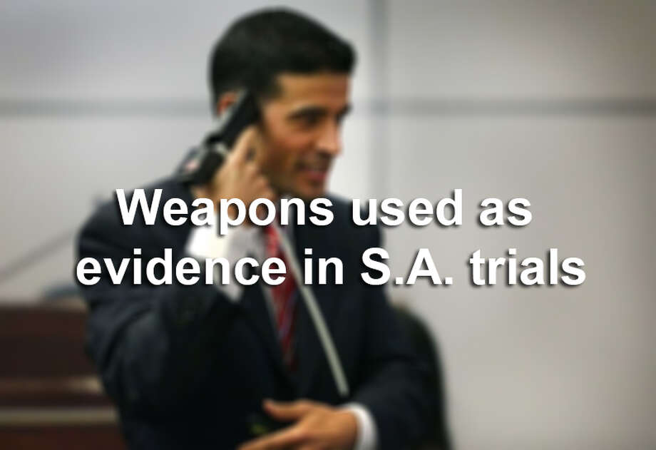 San Antonio criminal cases over the past 15 years range from shootings to stabbings to drunken driving, meaning weapons range from a kitchen knife to a Ford Explorer. The Express-News decided to take a look back at some of those trials that showed those weapons actually used.