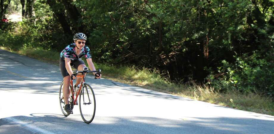 Oakland amateur cyclist Craig Cannon broke the world record for the most vertical feet biked in 48 hours, August 7 to 9, 2015, according to his Strava account. Photo: Craig Cannon