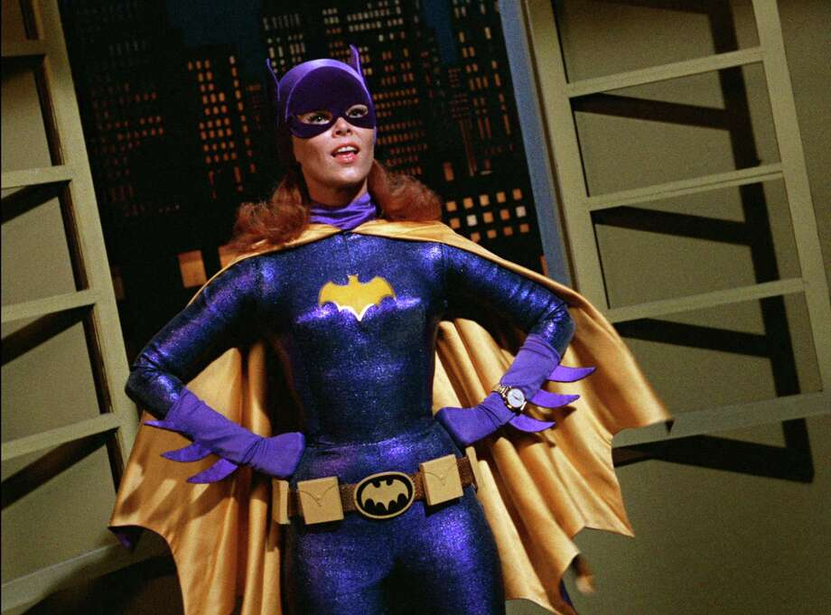 """In this image released by Warner Bros. Entertainment, Yvonne Craig portrays the crime-fighting Batgirl in the 1960s TV hit """"Batman."""" Craig died Monday, Aug. 17, 2015 in her Los Angeles home from complications from breast cancer. She was 78. (Warner Bros. Entertainment Inc via AP) Photo: Associated Press / Warner Bros. Entertainment"""