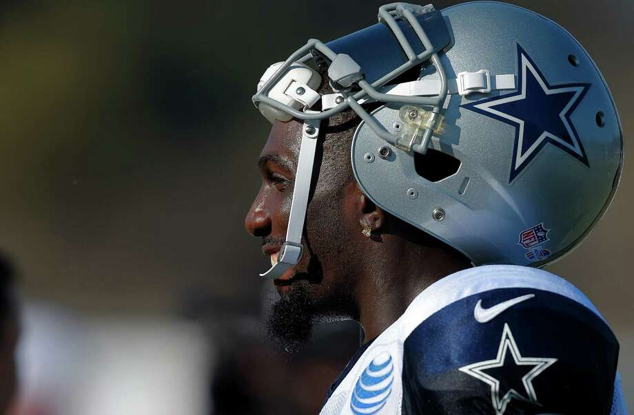 Dallas Cowboys wide receiver Dez Bryant is seen during a joint NFL football training camp with the St. Louis Rams, Tuesday, Aug. 18, 2015, in Oxnard, Calif. Photo: Mark J. Terrill /Associated Press / AP