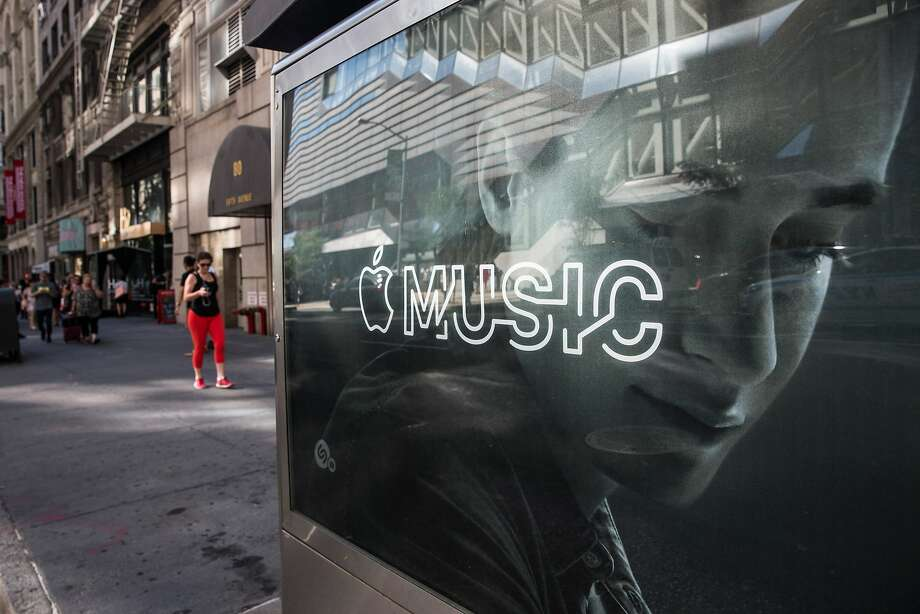 Even during its free trial period, Apple Music has been losing many subscribers, one study found. Photo: Andrew Burton, Getty Images