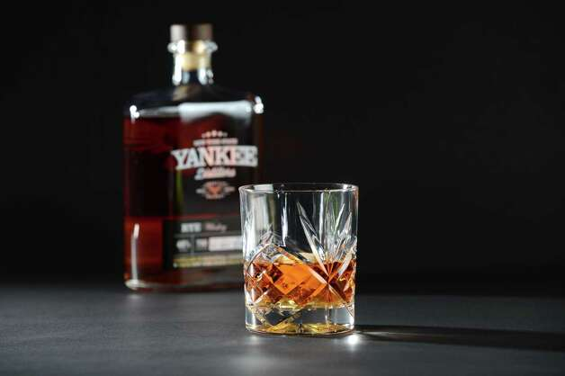 Glass of rye whisky from New York State Yankee Distillers Thursday, Aug. 13, 2015, at the Times Union in Colonie, N.Y. (Will Waldron/Times Union) Photo: WW