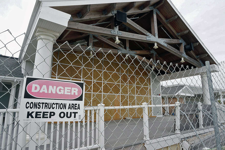 FEMA has deemed the Penfield Pavilion project eligible for full replacement, but bids for the project have come in over the $6 million budget. Photo: Genevieve Reilly / Fairfield Citizen / Fairfield Citizen