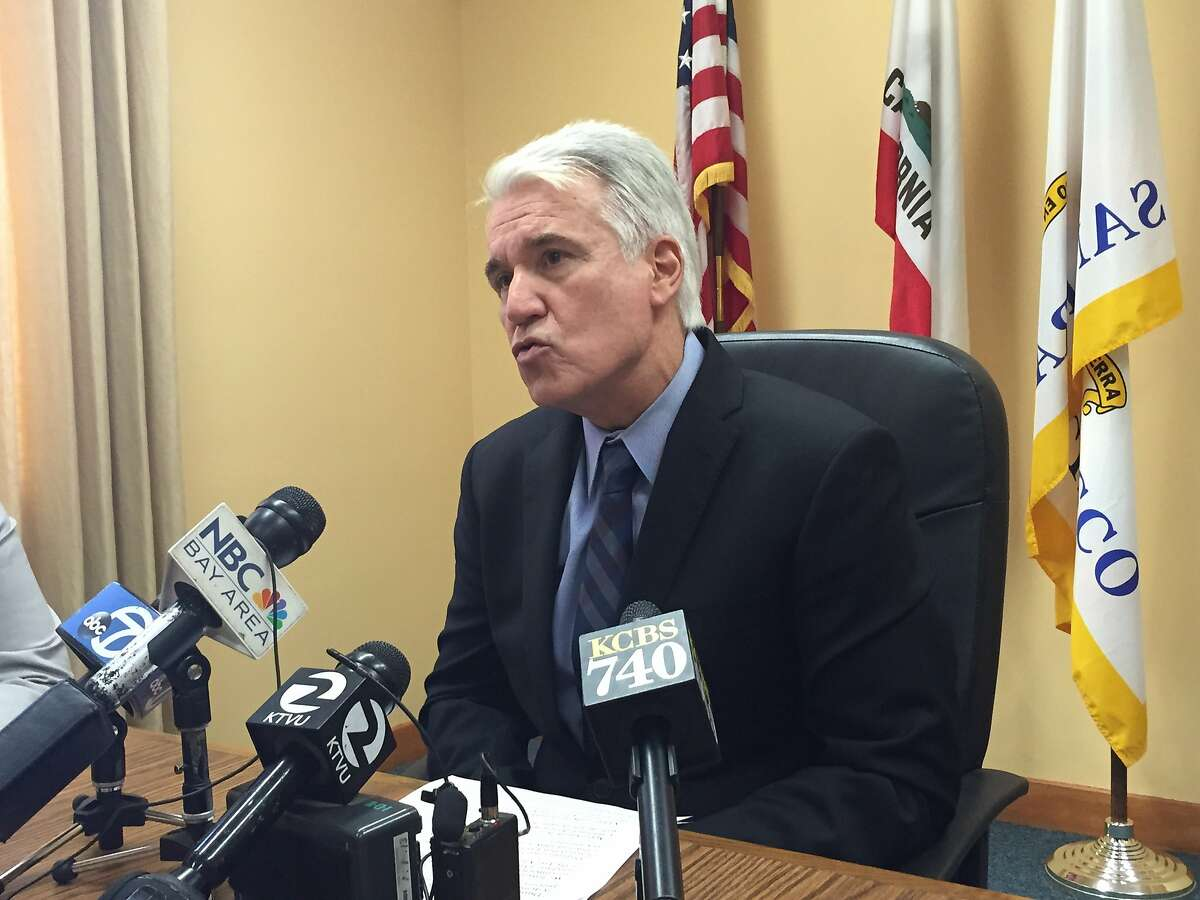 SF DA George Gascon called a press conference Wednesday to say that Uber's background check process is so flawed that it has least 22 convicted criminals driving in Los Angeles and San Francisco.