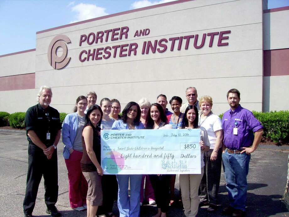 Students and faculty members at Porter and Chester in Stratford raised money for St. Jude's Children's Hospital last year. Photo: Contributed Photo / Connecticut Post / Connecticut Post