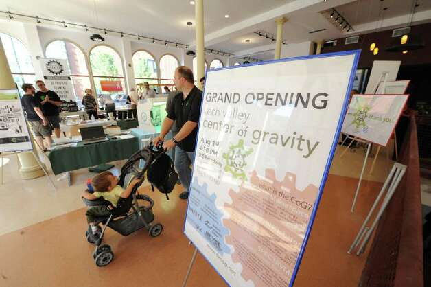 Opening of new Tech Valley Center of Gravity and incubator space at the historic Quackenbush Building on Wednesday Aug. 19, 2015 in Troy, N.Y.  (Michael P. Farrell/Times Union) Photo: Michael P. Farrell / 00032988A