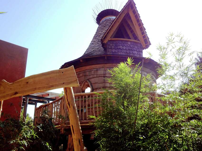 The DoSeum Treehouse, sort of a cross among a Hobbit house, a beach hut and a pirate ship, opens to the public today. Inside the new attraction, designed and built by San Antonio artisan Attie Jonker, an 80-foot wooden ramp gradually spirals to an observation deck that overlooks the Children's Stream in the museum's east yard.Ribbon cutting 10:30 a.m. DoSeum, 2800 Broadway. Admission $11. www.thedoseum.org-- Steve Bennett