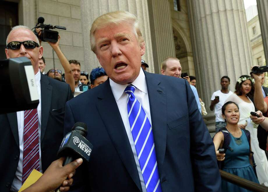 While many experts believe that presidential candidate Donald Trump's candidacy will be short-lived, polling data and  comments from voters in primary states indicate that his appeal is based on his boldness and attitude rather than his policy positions. Photo: DON EMMERT, Staff / AFP