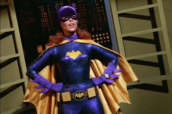 """Batgirl"" Yvonne Craig was also memorable as the green-skinned slave girl Marta on ""Star Trek."""