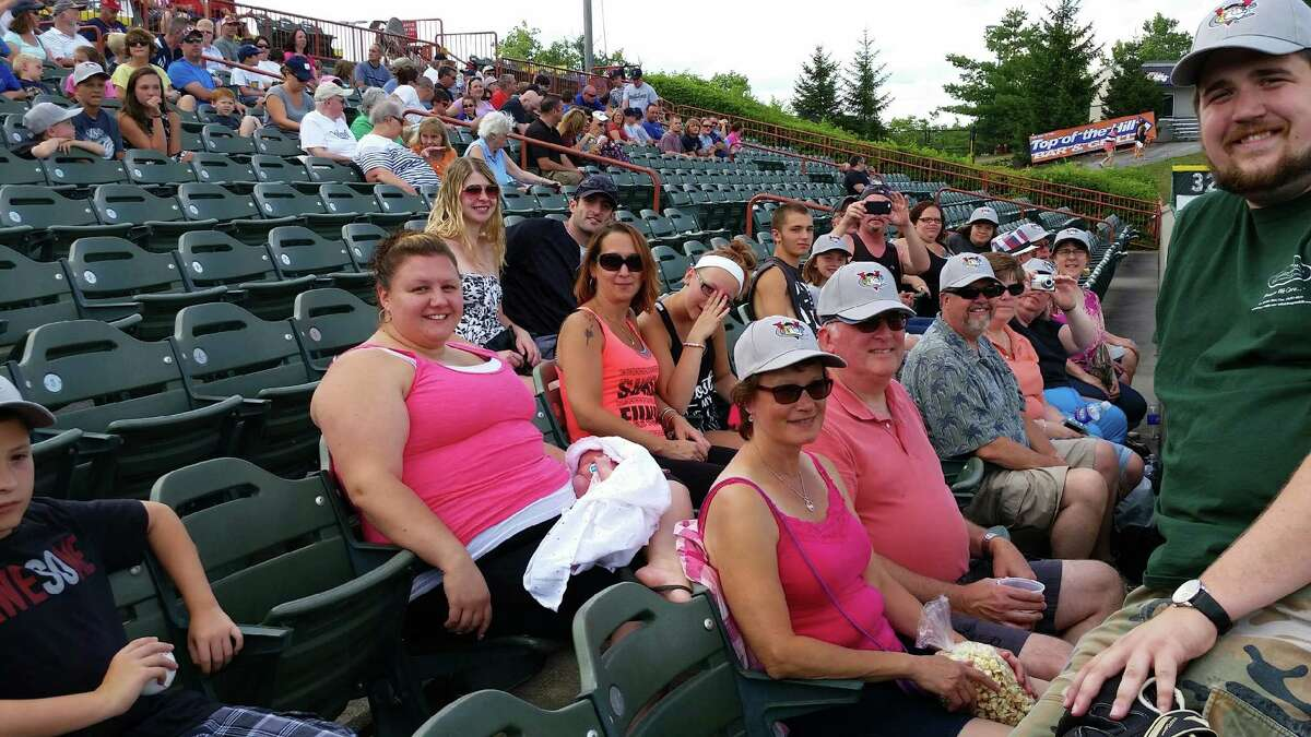 Livingston Hills Nursing and Rehabilitation Center located in Livingston, Columbia County, treated over 60 staff and family members on Sunday, Aug. 2, with a trip to Joseph L. Bruno Stadium in Troy to watch the Tri-City ValleyCats play the Mahoning Valley Scrappers. (Provided photo)