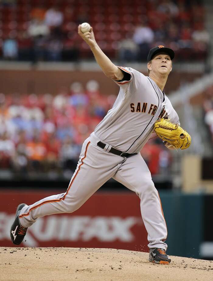 The Giants' Matt Cain had his best start in nearly a month. Photo: Jeff Roberson, Associated Press