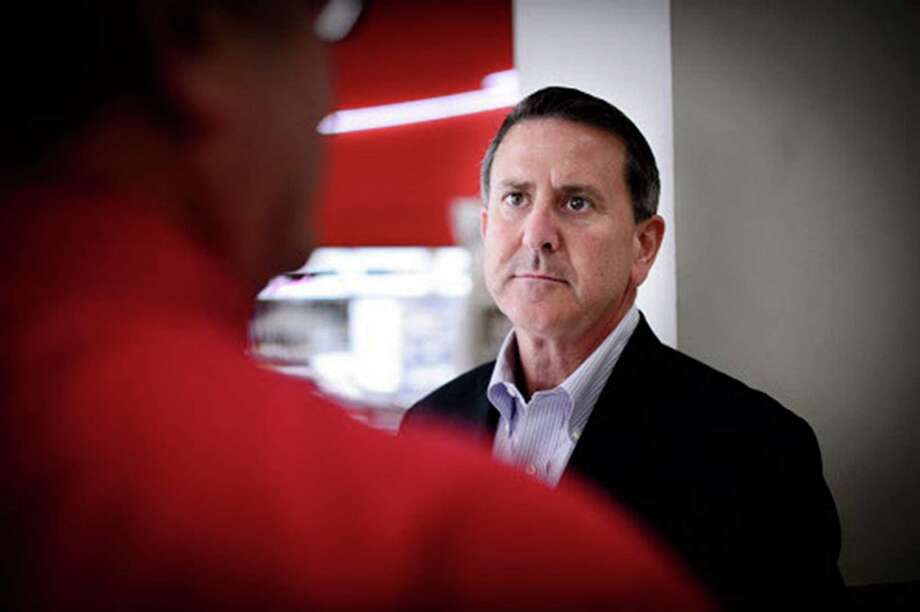 Brian Cornell, Target's new CEO, toured the Nicollet Mall Target store in downtown Minneapolis. Photo: Glen Stubbe, MBR / Minneapolis Star Tribune