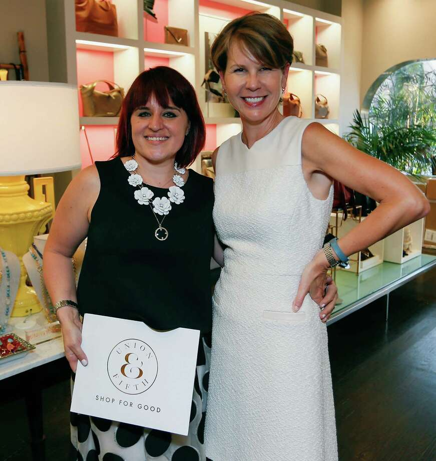Christena Reinhard, Executive Founding Director of Union & Fifth, the only non-profit designer apparel resale website hosted an event at Elaine Turner in Houston on Wednesday, August 19th. Photo: Bob Levey, Courtesy Of Union & Fifth / 2015 Getty Images