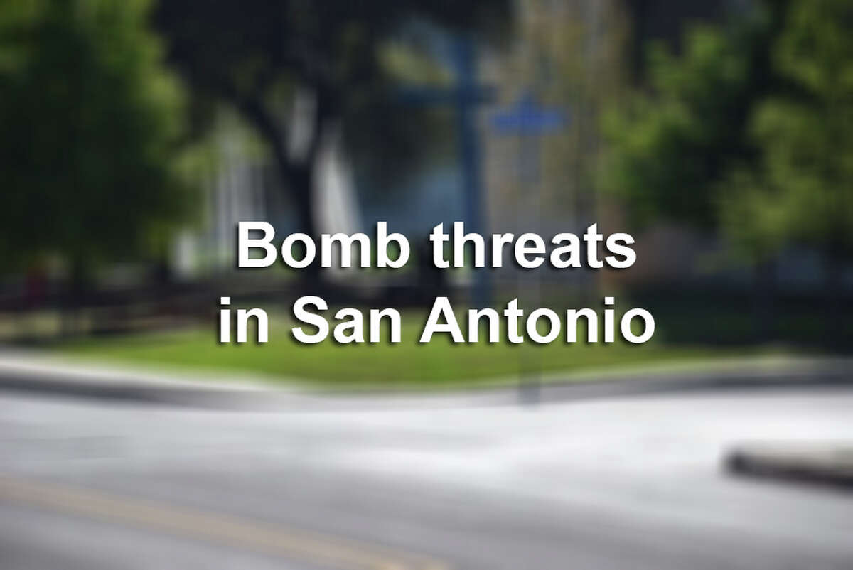 Click through the slideshow to see a collection of photos from various bomb threats seen around town.
