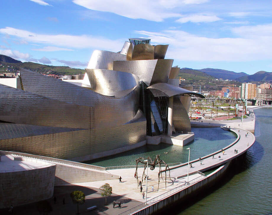 The striking architecture of the Guggenheim Bilbao art museum has put the Basque city of Bilbao on the map. Photo: Cameron Hewitt / Rick Steves' Europe