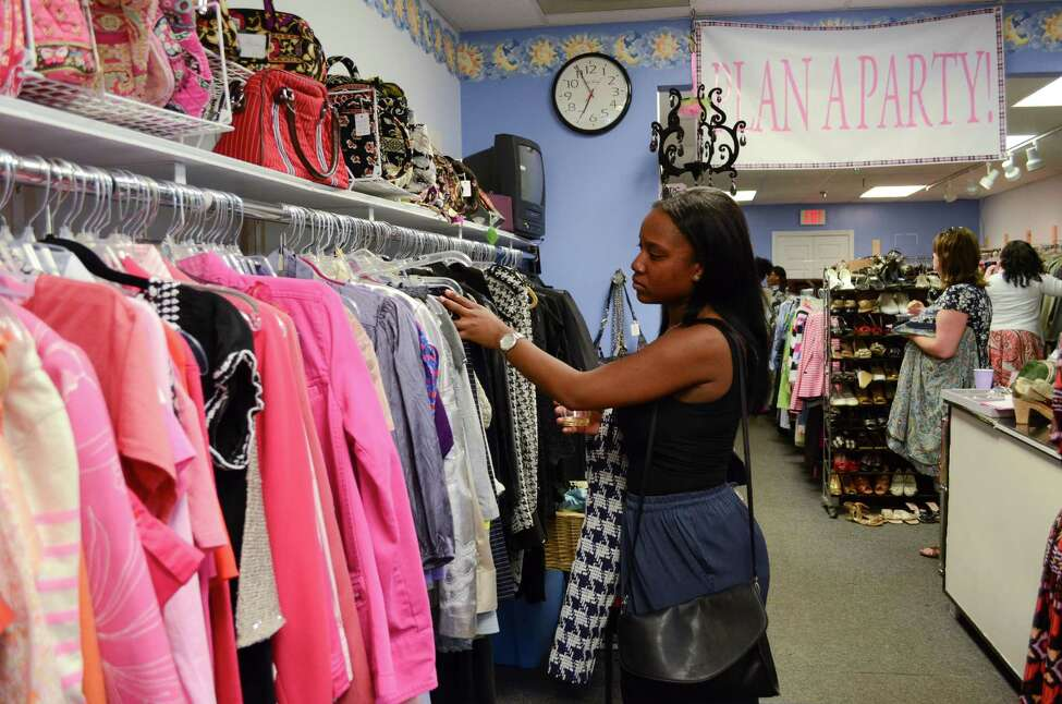 Women shop at Fifi?s Frocks and Frills at a She?s the Boss event this summer.