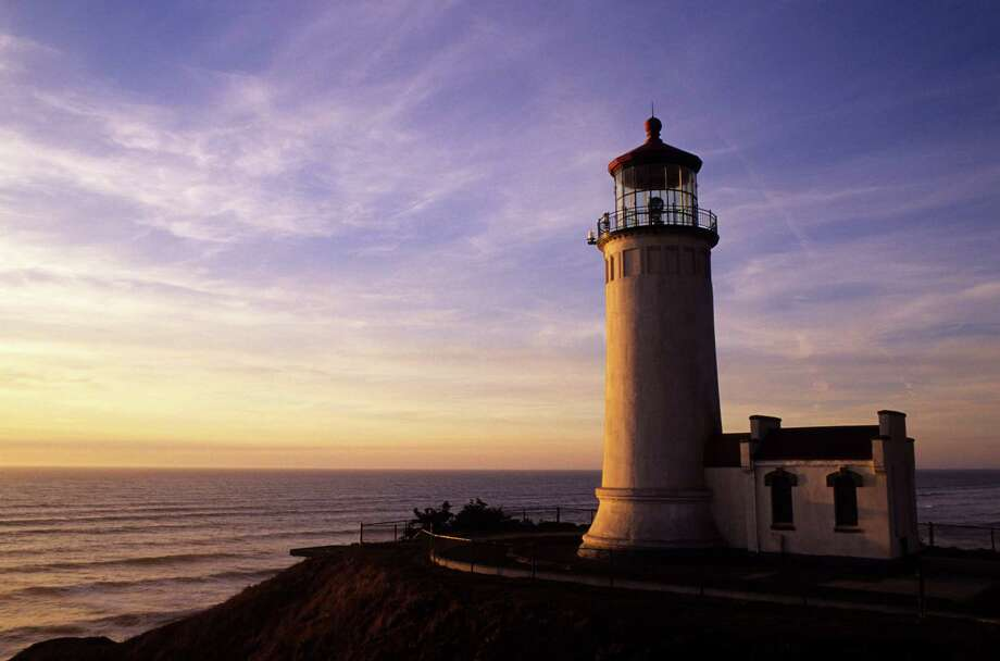 Long Beach Peninsula, Fort Canby State Park, North Head Lighthouse In Evening Light. (Photo by Wolfgang Kaehler/LightRocket via Getty Images) Photo: Wolfgang Kaehler, Credit / © 1994 Wolfgang Kaehler