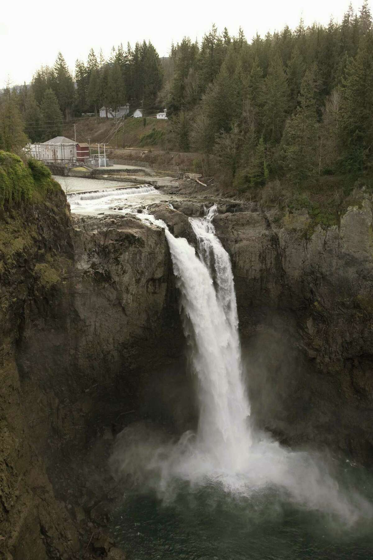 Snoqualmie Falls certainly isn't hurting King County's rank for natural beauty.