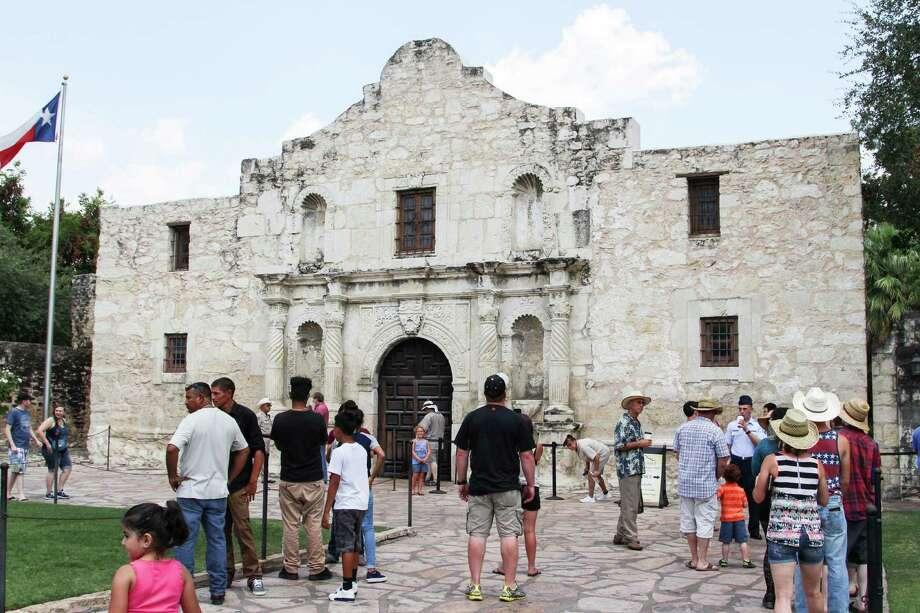 The Alamo, 2015 Photo: Tyler White/San Antonio Express-News