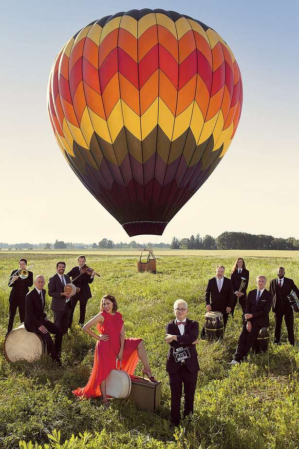 Pink Martini performs with China Forbes on Sunday, Aug. 30, at Sonoma State University's Weill Hall. Photo: Holly Andres