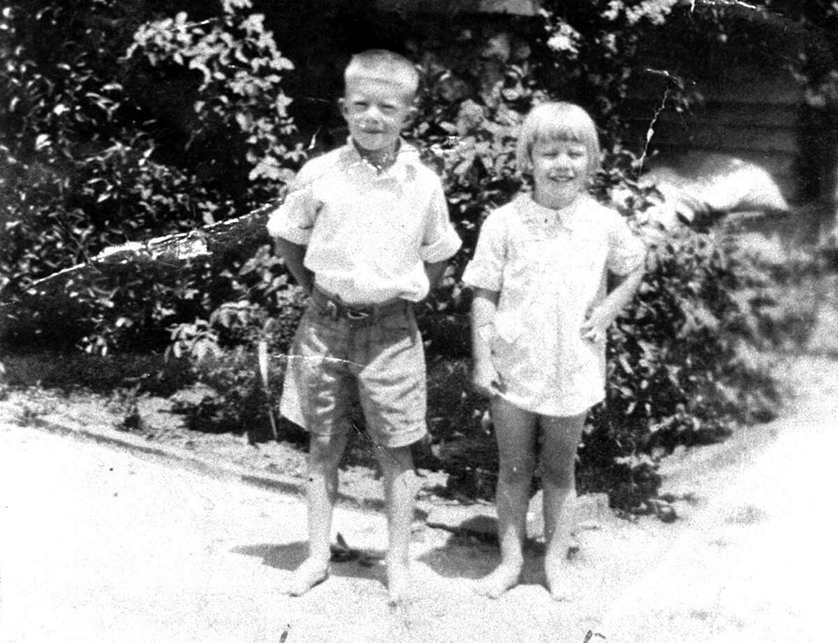 Born: October 1, 1924 James Earl Carter Jr. is born in Plains, Georgia. He is shown here with one of his siblings, Gloria.