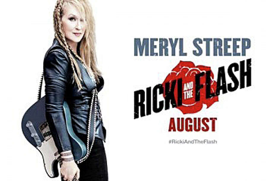 "Meryl Streep stars as a rocker who tries to re-connect with her estranged family in the new movie, ""Ricki and the Flash."" Photo: Contributed / Contributed Photo / Westport News"