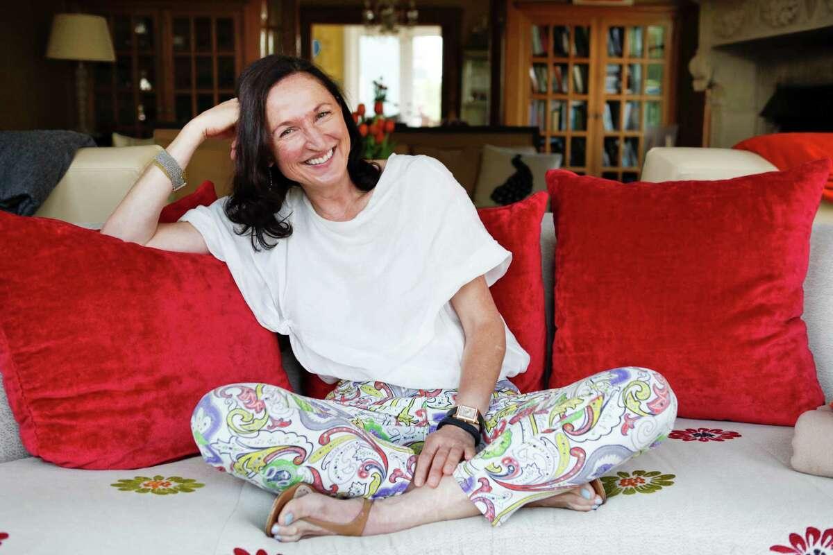 Margit Wennmachers, a venture capitalist at Andreessen Horowitz, in her San Francisco, Calif., home in 2013.