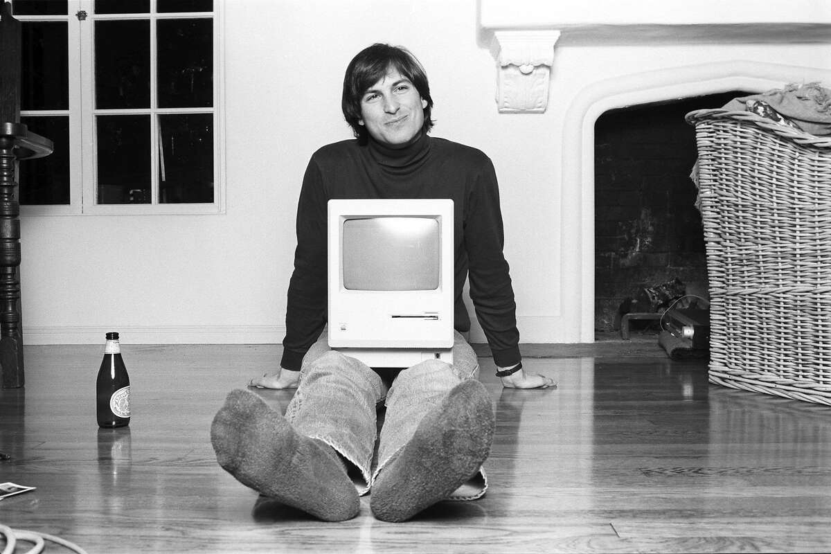 """Steve Jobs in the new documentary """"Steve Jobs: The Man in the Machine,"""" directed by Alex Gibney."""