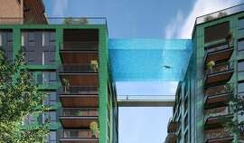 "A ""sky pool"" is planned by Irish developer Ballymore for the Nine Elms development in London."