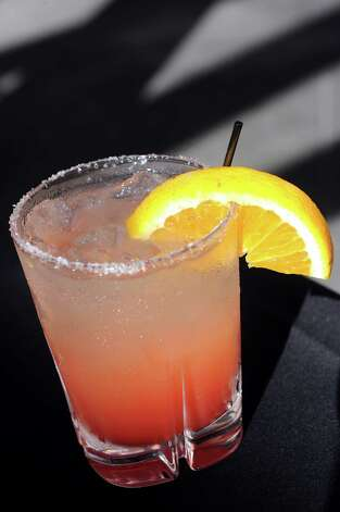 Blood Orange Margarita on Thursday, Aug. 13, 2015, at The Patio at 15 Church in Saratoga Springs, N.Y. (Cindy Schultz / Times Union) Photo: Cindy Schultz / 00032979A