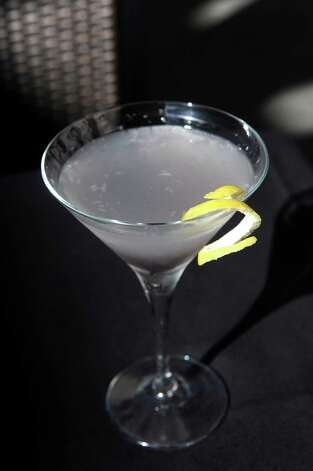 Aviation Martini on Thursday, Aug. 13, 2015, at The Patio at 15 Church in Saratoga Springs, N.Y. (Cindy Schultz / Times Union) Photo: Cindy Schultz / 00032979A