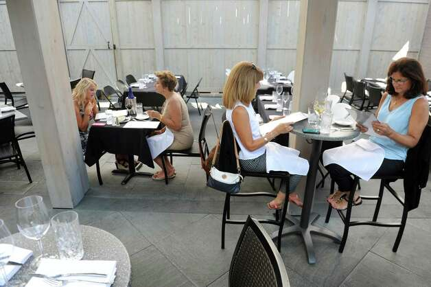 The dining room on Thursday, Aug. 13, 2015, at The Patio at 15 Church in Saratoga Springs, N.Y. (Cindy Schultz / Times Union) Photo: Cindy Schultz / 00032979A