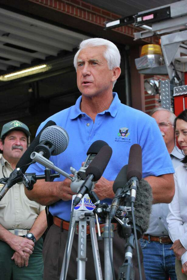 Washington Rep. Dave Reichert: He's the state's first Republican House member to criticize President Trump's pardon of former Arizona Sheriff Joe Arpaio, convinced of ignoring a court's order to stop racial profiling. Photo: LEVI PULKKINEN/SEATTLEPI.COM