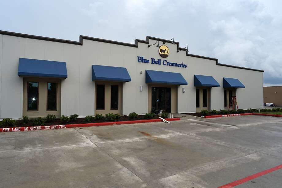 Blue Bell Creameries has built a new distribution center at 22635 Tomball Parkway in Tomball. (Photo by Jerry Baker/Freelance) Photo: Jerry Baker, Freelance