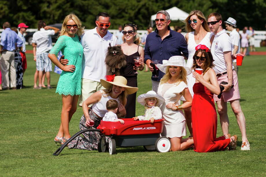 High-goal polo players battled it out in the competition for the Monty Waterbury Cup on a sun-filled afternoon at Greenwich Polo Club June 14, 2015. The MVP of the match was Guillermo Aguero and Best Playing Pony was Matias Magrini riding Presumida. Photo: Contributed/Greenwich Polo Club/Katerina Morgan
