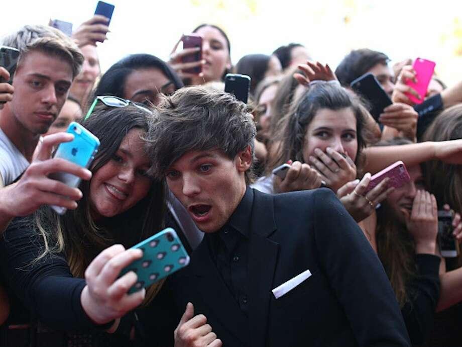 Selfie Taker: One Direction instagram.com/onedirection Photo: Business Insider