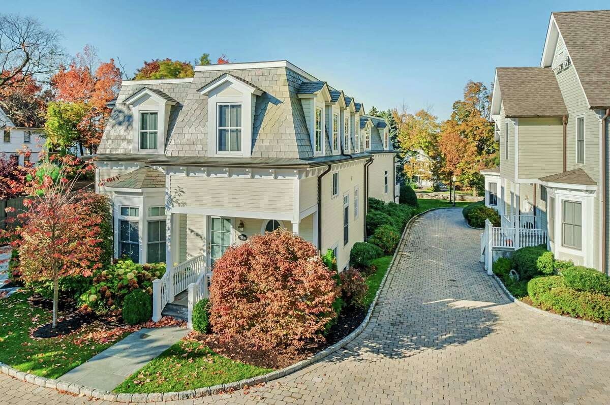 Milbank Court, a collection of town homes located in downtown Greenwich, have been completely sold. Real estate trends in Greenwich have been shifting toward luxury condominiums and townhomes rather than large estates.