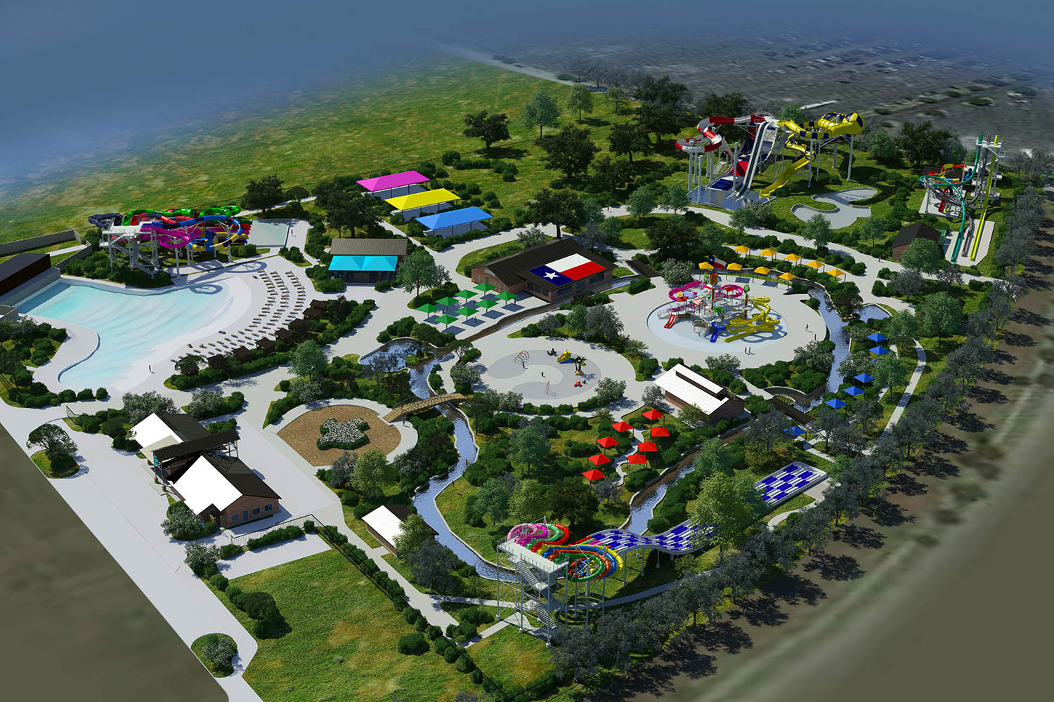Katy To Open Next Large Water Park Dubbed Typhoon Texas