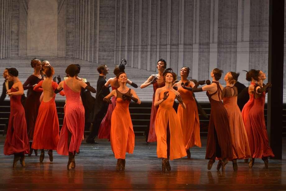 "Members of St. Petersburg's Mariinsky Ballet perform in Alexei Ratmansky's version of ""Cinderella,"" which plays UC Berkeley's Zellerbach Hall Oct. 1-4, part of the Cal Performances season.  Photo by Vladimir Baranovsky Photo: Vladimir Baranovsky"