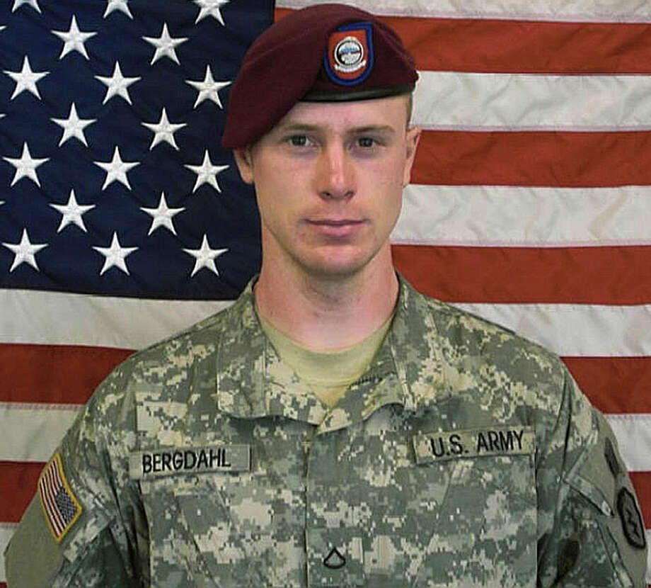 Sgt. Bowe Bergdahl was released in 2014 after spending about five years as a prisoner of the Taliban in Afghanistan. Photo: Uncredited /Associated Press / US Army