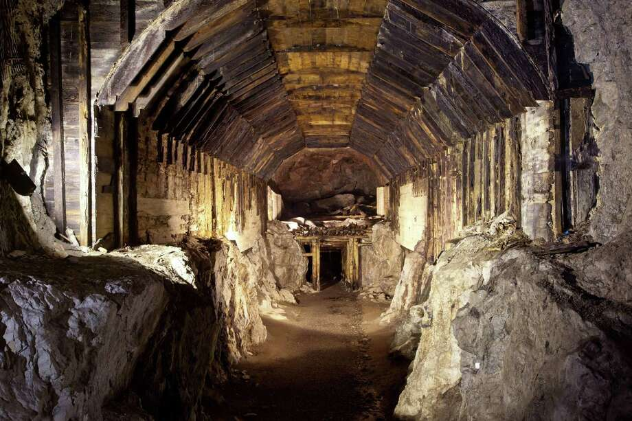 FILE - This file photo from March.2012, shows a part of a subterranean system built by Nazi Germany in what is today Gluszyca-Osowka, Poland. According to Polish lore, a Nazi train loaded with gold,  and weapons vanished into a mountain at the end of World War II, as the Germans fled the Soviet advance. Now two men claim they know the location of the mystery train and are demanding 10 percent of its value in exchange for revealing its location. (AP Photo,str) Photo: STR / AP